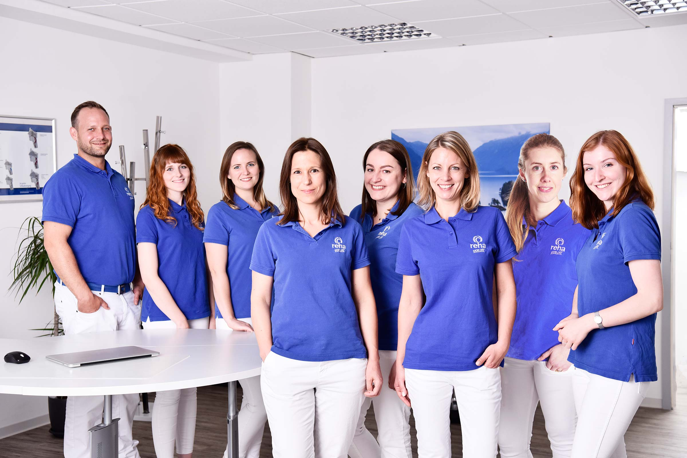 Das Team von reha VOR ORT